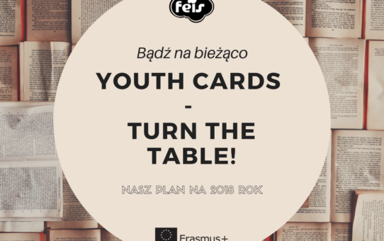 Youth cards - nasz plan na 2018 rok