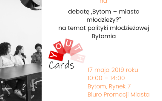 """Debata """"Bytom – miasto młodzieży?"""""""