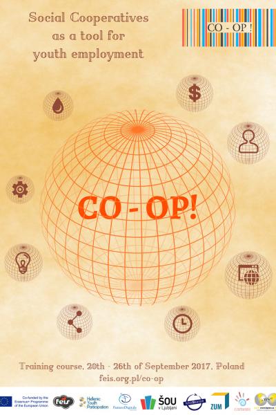 CO-OP! poster